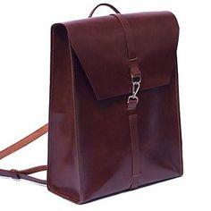 f3ba3fc7141 Leather Laptop bag and backpack. Vintage bag by Ludena. Ideal   Etsy  Computer Tassen