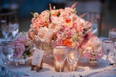 Beautiful table flowers.