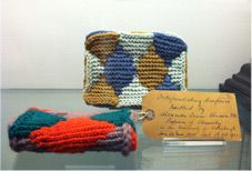 Knitted Models of Interpenetrating Surfaces, in the collection of Whipple Museum of the History of Science, University of Cambridge.
