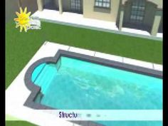 Couverture de piscine mobile - YouTube