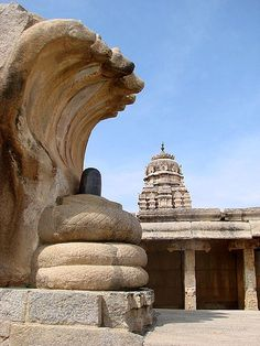 Lepakshi is ancient shrine architecture in Anantapur district of Andhra Pradesh