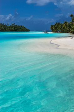 Aitutaki, Cook Islands, Paradise, Holiday Destination, White Sand, Clear Blue Water