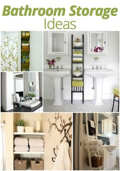 #DIY #Bathroom #Storage Ideas