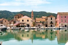 Stari Grad, to the north of Hvar Island, is one of the oldest towns in Europe dating from 385BC. Filled with ancient stone houses and Renaissance-era palaces, it sits in a peaceful curved bay. The narrow streets are cool and worth a walk around, while Tvrdalj castle is also a must-see.