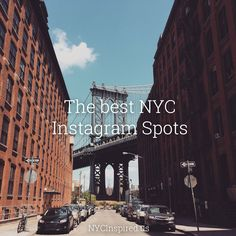 Dumbo - Brooklyn, New York. Check out the best NYC Instagram spots
