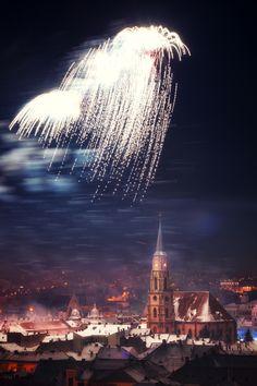 Happy New Year - Cluj Napoca, Romania, www.romaniasfriends.com