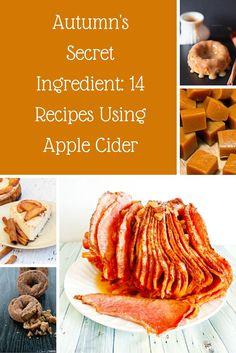 Autumn's Secret Ingredient: 14 Recipes Using Apple Cider