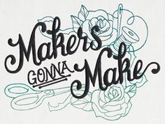 Wicked Stitchery - Makers Gonna Make   Urban Threads: Unique and Awesome Embroidery Designs