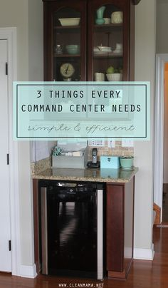 If you've ever set up a command center (or wanted to), chances are you took a peek around Pinterest or your favorite shop or online retailer and were either overwhelmed by all the choices and options or not sure how to translate that into what might work for your family. Today I'd like to share... (read more...)