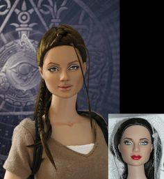 OOAK Repaint of Lara Croft - Tomb Raider / Angelina Jolie | My Immortals