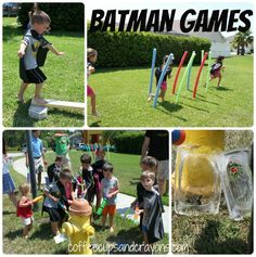 Batman birthday games - no link which is disappointing, but I do like the idea of saving superheros from ice