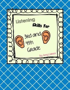 Listening Skills for 3rd and 4th Grade $