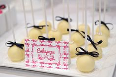 Beautiful Dessert Table Cake Pops
