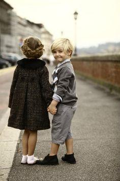 Sweet boy & girl #wow #kids #style