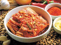Kimchi (plato elaborado con verduras fermentadas)