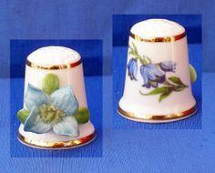 Royale Stratford Thimble Applied Hand Made Himalayan Poppy   eBay /  Mar 16, 2014 / GBP 21.00