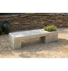 Concrete garden bench. Wander if I can make this?