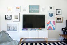 Una sala de estar para familias con hijos : via La Garbatella