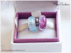 Frozen muranos from Pandora Disney Spring 2015