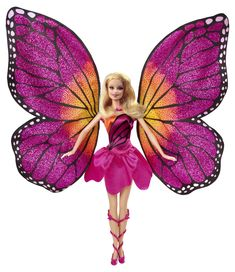 Amazon.com: Barbie Mariposa and The Fairy Princess Doll: Toys & Games