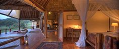 Beautiful views from the Family Villa at Saruni Mara. #familyholiday #luxury #safari #children