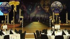 Transform your event into a mysterious adventure for attendants or an opportunity to get your CEO wearing a decorative mask with our Venetian Carnival backdrops.
