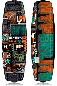Hyperlite Clash Wakeboard 2013 at BoardCo.com  #wakeboards #wakeboard #wake
