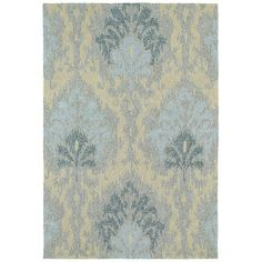 Kaleen Habitat 21 Sea Spray Spa Floral Indoor / Outdoor Area Rug & Reviews | Wayfair