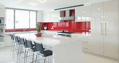 cocinas modernas blancas - Google Search