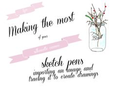 ..Twigg studios: making the most of your silhouette sketch pens tutorial