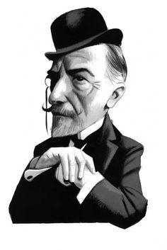 Joseph Conrad by Fernando Vicente