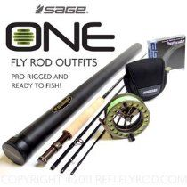 Sage ONE 590-4 Fly Rod Outfit
