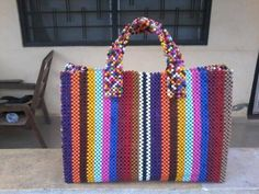 Beads bags made in Ghana Achimota - image 4 Beaded Bags, Selling Online, Ghana, Bag Making, Straw Bag, Buy And Sell, Tote Bag, Beads, How To Make