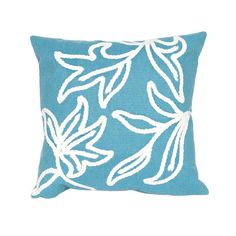 aqua windsor outdoor pillow home decorators