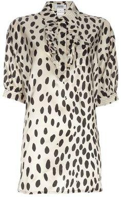 ShopStyle: Sonia By Sonia Rykiel Dalmatian print shirt