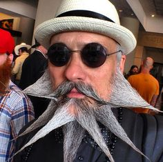 Photos from the Just for Men National Beard and Moustache Championships