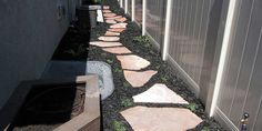 Flagstonr Stepper Walkway