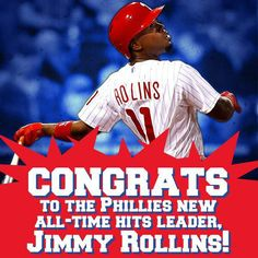 Congrats J-Roll !! @Philadelphia Jackman Phillies