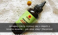 Jamajský čierny ricínový olej s olejom z nového korenia Natural Solutions