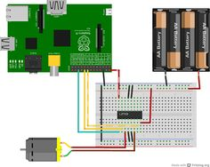 Controlling DC Motors Using Python With a Raspberry Pi - Tuts+ Computer Skills Tutorial