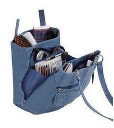Denim Handbags, Trendy Handbags, Tote Handbags, Purses And Handbags, Denim Jean Purses, Denim Bag, Recycled Denim, Fabric Bags, Tote Purse