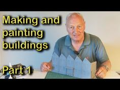 Model Railway - Making and Painting Buildings, Part Ho Scale Trains, Ho Trains, Model Trains, Gotham News, Free Paper Models, Layout, Best Model, Model Building, Classic Toys