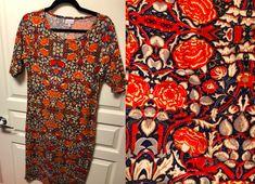 LulaRoe Julia Large- $35 Selling Lularoe, Lularoe Julia, Button Down Shirt, Men Casual, Mens Tops, Shirts, Fashion, Moda, Dress Shirt