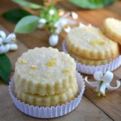 Orange Blossom Shortbread | The View from Great Island. Note: Uses orange blossom water.