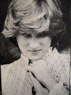 July 3, 1981: Lady Diana Spencer at Wimbledon.