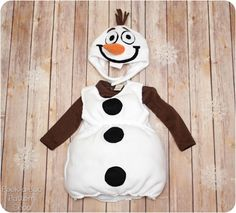 olaf costume tutorial