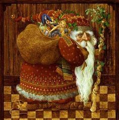 Old World Santa by James C Christensen