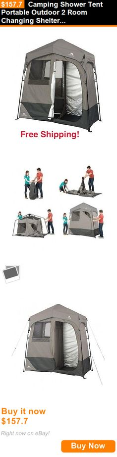 Portable Showers and Accessories 181396: Camping Shower Tent Portable Outdoor 2 Room Changing Shelter Solar Heated BUY IT NOW ONLY: $157.7