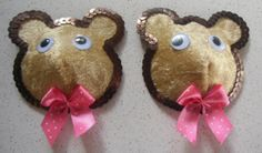 "Cache-tétons ourson ""Let me be your teddy bear""  Bears nippies Let me be your teddy bear"