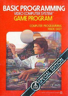 Basic Programming for the Atari 2600 VCS. Vintage Video Games, Classic Video Games, Retro Video Games, Vintage Games, Retro Games, Basic Programming, Computer Programming, Gaming Computer, Games Box